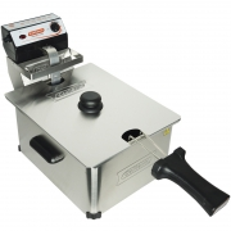 Fritadeira Elétrica com Óleo 5 Litros 1 Cuba Industrial Profissional Cotherm Inox
