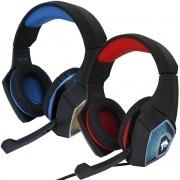 Headset Gamer Fone Ouvido Microfone Surround Bass Led Pc Celular Jogos Infokit GH-X2000 XSoldado