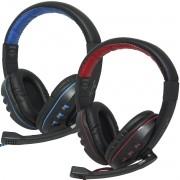 Headset Headphone Gamer Fone Ouvido P2 Super Bass Full Hi-Fi Stereo Microfone Pc Jogo Exbom HF-G230