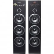 Home Theater Bluetooth 720W Rms Torre 2.0 Usb Fm Caixa Som Amplificada Bivolt Amvox Aca 720