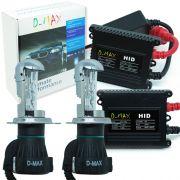 Kit Bi Xenon Carro 12V 35W D-Max H4-3 8000K