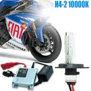 Kit Xenon Moto 12V 35W H4-2 10000K