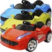 Mini Carro Elétrico Infantil Criança Bateria 6V Importway Ferrari BW005 Bivolt