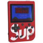 Mini Vídeo Game Portátil de Mão 400 Jogos Retro Clássico 1 Jogador Vermelho SUP 3353 Barato