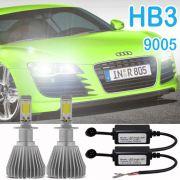 Par Lâmpada Super Led 6400 Lumens 12V 24V Hb3 6000K