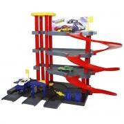 Posto Brinquedo Gasolina Combustível Estaciona Elevador Garagem Radical Infantil Importway BW-092