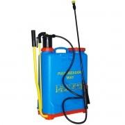 Pulverizador Manual Costal 20 Litros Borrifador com 4 Bicos Bomba Veneno Importway IWPM20-020