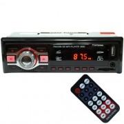 Auto Rádio Som Mp3 Player Automotivo Carro First Option 8660 Fm Sd Usb Controle