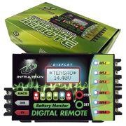 Sequenciador de Comando Remoto e Voltímetro Digital Infratron Remote 6 Saídas