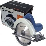Serra Circular Manual 7.1/4 1050W 127V Rolamentada 6000 Rpm 180 mm Fort FT-5806 Azul