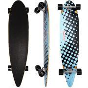 Skate Longboard 42´´ Completo Montado Profissional Madeira Roda 70 Speed Importway BW-015 Barato