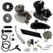 Super Kit Motor Bicicleta Motorizada Gasolina 80CC 2T 2 Tempos Completo Importway Barato