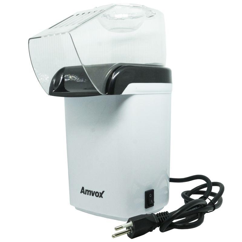 Pipoqueira Elétrica Sem Óleo Derrete Manteiga Pipop Amvox APC 3406