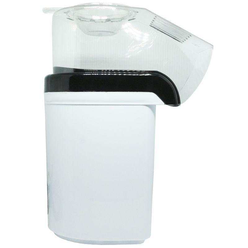 Pipoqueira Elétrica Sem Óleo 220V Derrete Manteiga Pipop Preta Branca Amvox APC 3406-2