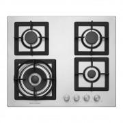 Cooktop a Gás 4 Queimadores 60 cm Quadratto CKG-4Q-60-XQ-3ZEA Elettromec