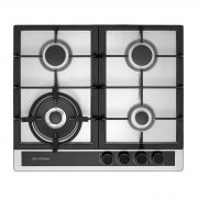 Cooktop a Gás 4 Queimadores Inox 60 cm Sole CKG-4Q-60-SL-3TNA Elettromec