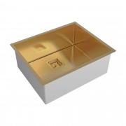 Cuba de Embutir ou Sobrepor 540 x 440 Primaccore 500 Dark Gold 20.03.90130 Debacco
