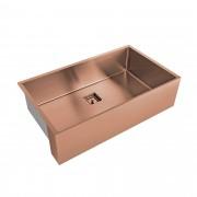 Cuba 740 x 430 Primaccore Farm Sink Rose Gold Debacco