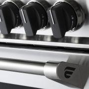 Fogão a Gás 5 Queimadores 90 cm c/ Forno a Gás Professionale LNTC95GPROX2 Elanto