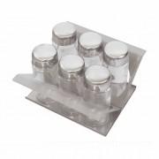 Porta Condimentos 15 cm PCO 0150 Calha SECA Xteel