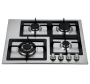 Cooktop a Gás 4 Queimadores Inox 62 cm CCB 100 Crissair