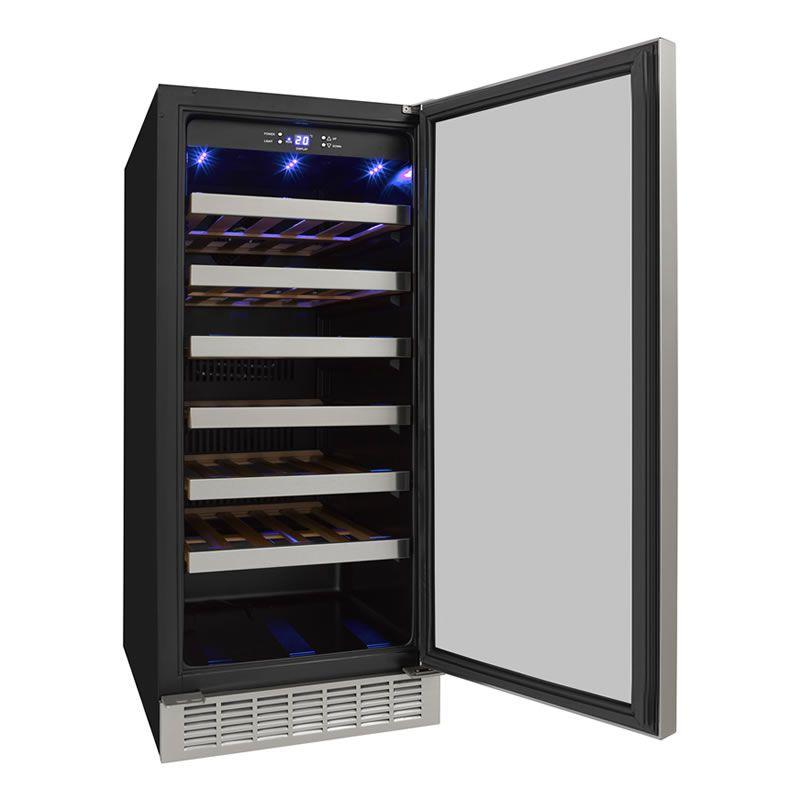 Adega 34 Garrafas 1 Zona Embutir CV-S34 1Z + Ice Maker 18 Kg  Embutir IMBI18-X1 Elettromec