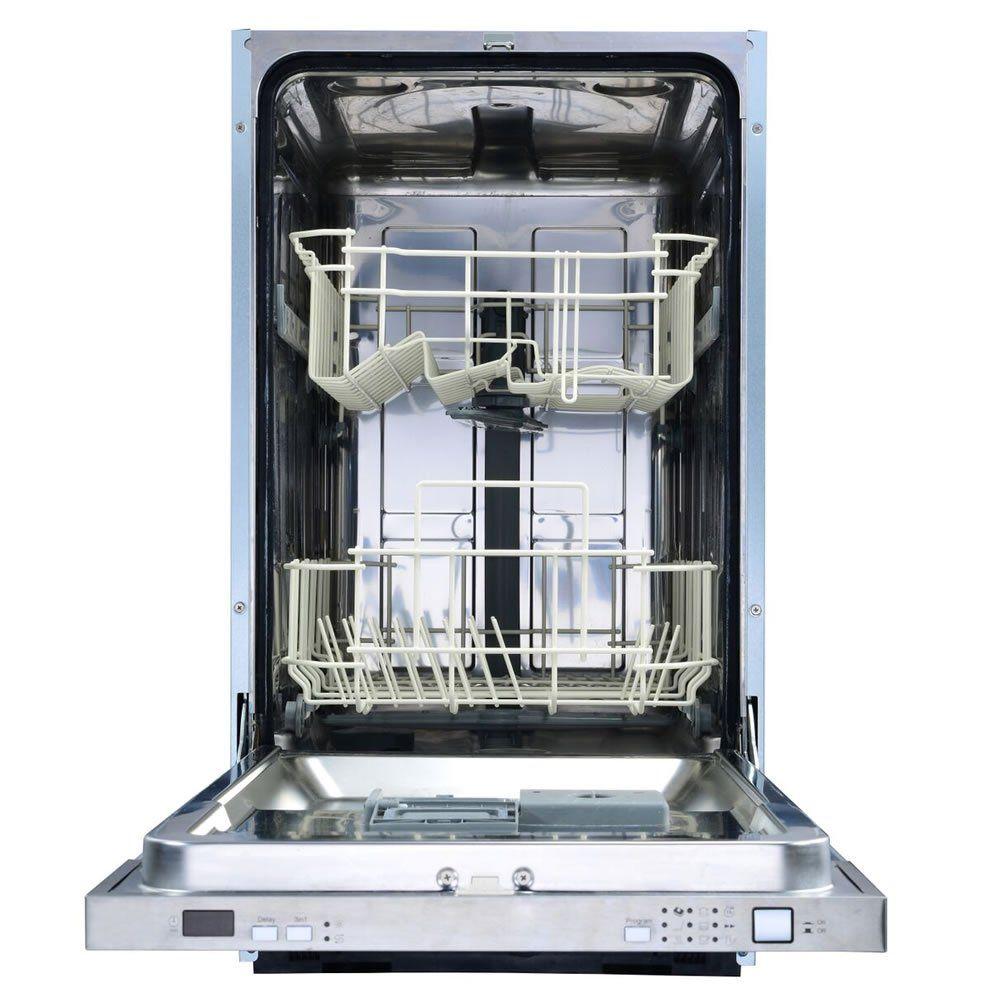 Lava-louças 9 serviços 45 cm Embutir Luce LL-9S-45-SR-2GZA Elettromec