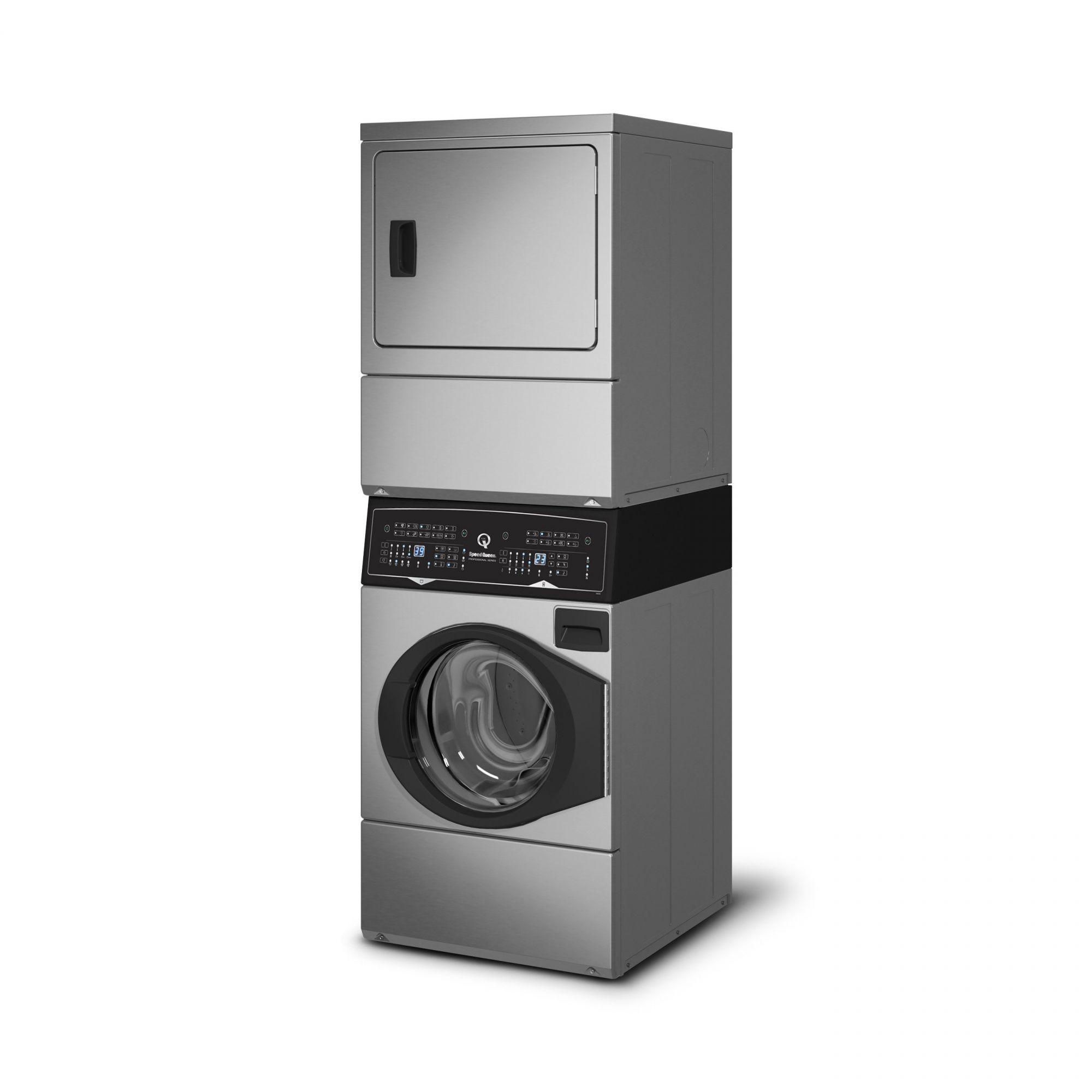 Lavadora e Secadora Conjugada Inox Elétrica 10,5 Kg ATEE9A Speed Queen