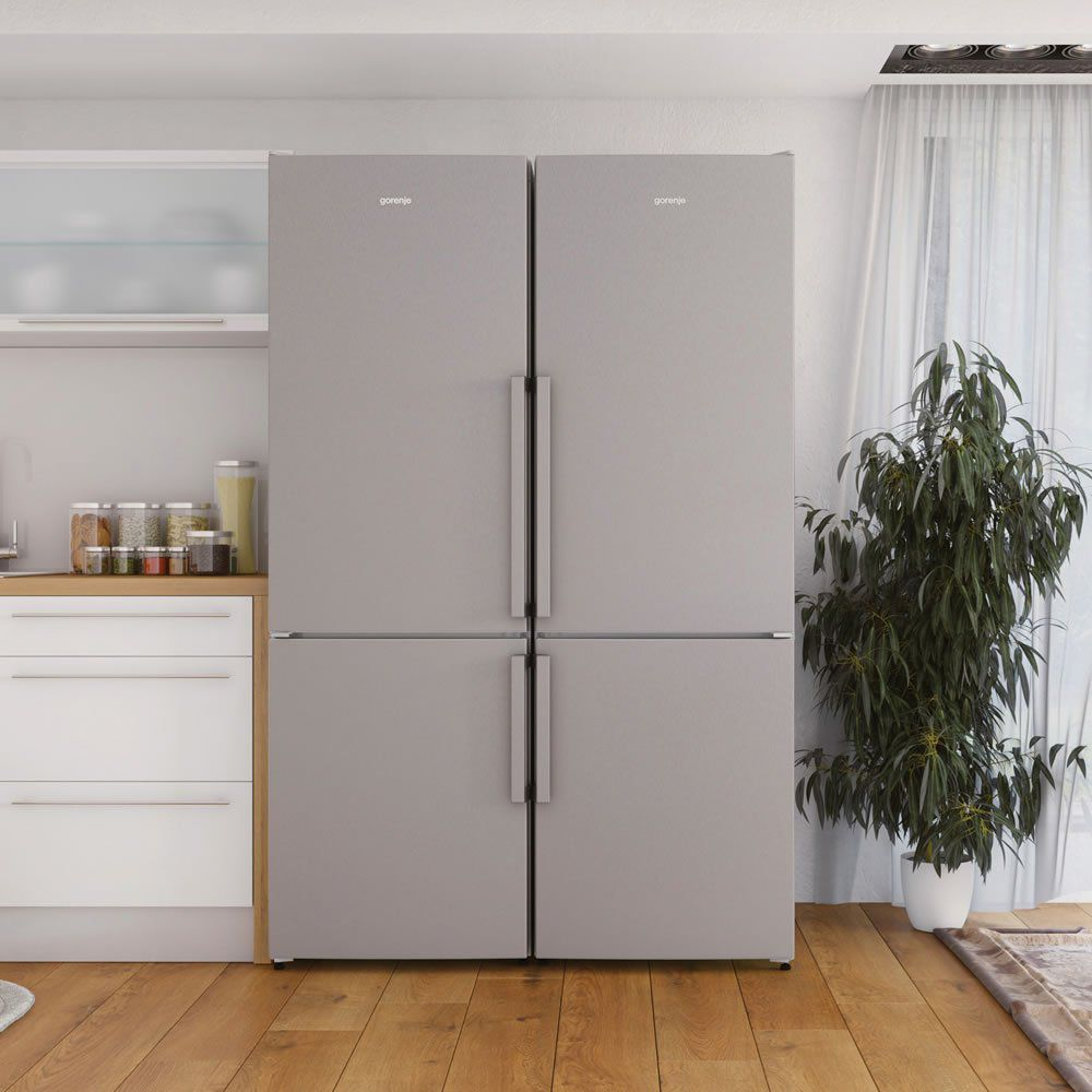 Refrigerador Bottom Freezer 329 L Instalação Livre NRK6192UX Gorenje ION