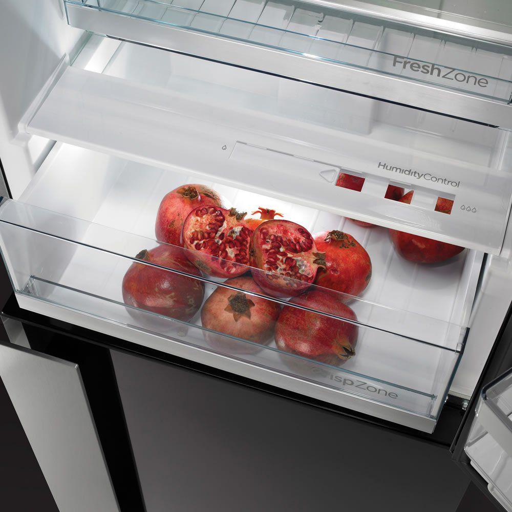 Refrigerador Bottom Freezer 329 L Instalação Livre Ora-Ïto Black NRKORA62E-L Gorenje ION