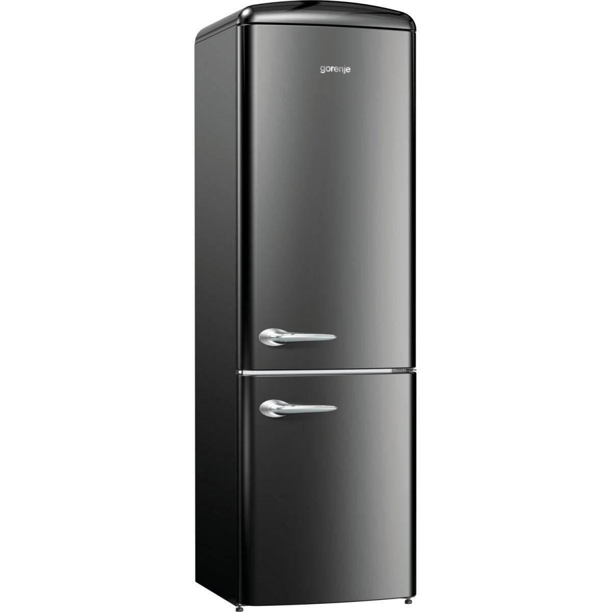 Refrigerador 334 L Instalação Livre Retro Collection ONRK192BK Gorenje ION Generation
