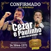 Cezar & Paulinho - 10/03/18 - Pratânia - SP