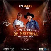 Dudu Marques & Marcel - 09/05/20 - Marília - SP