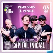 Fun Music Show Capital Inicial - 06/09/18 - Mogi Guaçu - SP