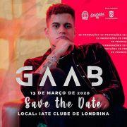 Gaab - 13/03/20 - Londrina - PR