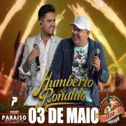 Humberto & Ronaldo - 03/05/19 - Paraíso - SP - TKINGRESSOS