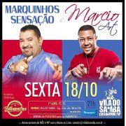Marquinhos Sensação e Marcio Art - Vila do Samba - 18/10/19 - São Paulo - SP