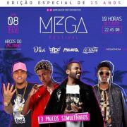 Mega Festival 15 Anos - MegaC - 08/02/20 - Santos - SP
