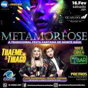 Metamorfose - Festa a Fantasia - 16/02/19 - Monte Sião - MG