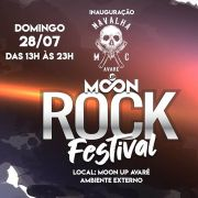 Moon Up Rock Festival - 28/07/19 - Avaré - SP