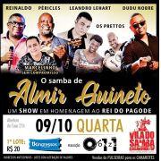 O Samba de Almir Guineto - Vila do Samba - 09/10/19 - São Paulo - SP