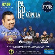 Pagode da Cúpula - 07/09/18 - São Paulo - SP