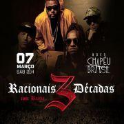 Racionais - Chapéu Brasil - 07/03/20 - Sumaré - SP