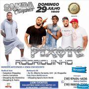 Samba Campinas com Pixote+Rodriguinho - 29/07/18 - Campinas - SP