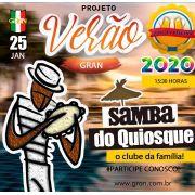 Samba do Quiosque - 25/01/20 - Limeira - SP