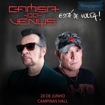 Camisa de Vênus - 20/06/15 - Campinas - SP