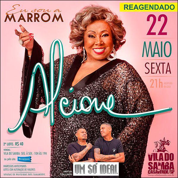Alcione na Vila do Samba - 22/05/20 - São Paulo - SP