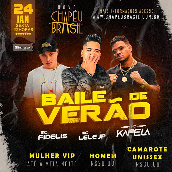 Baile de Verão - Chapéu Brasil - 24/01/20 - Sumaré - SP
