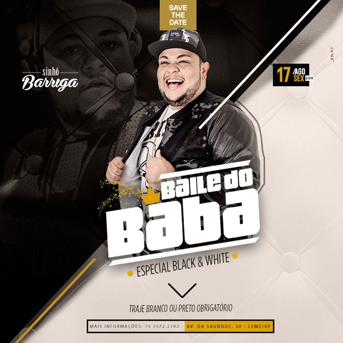 Baile do Baba - 17/08/18 - Leme - SP
