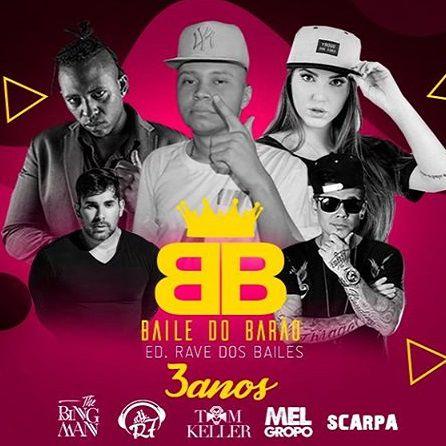 Baile do Barão - Moon Up - 26/10/19 - Avaré - SP